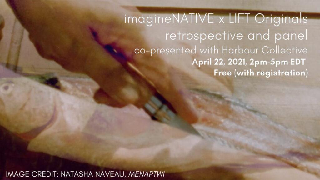 Harbour co-presents imagineNATIVE x LIFT Originals